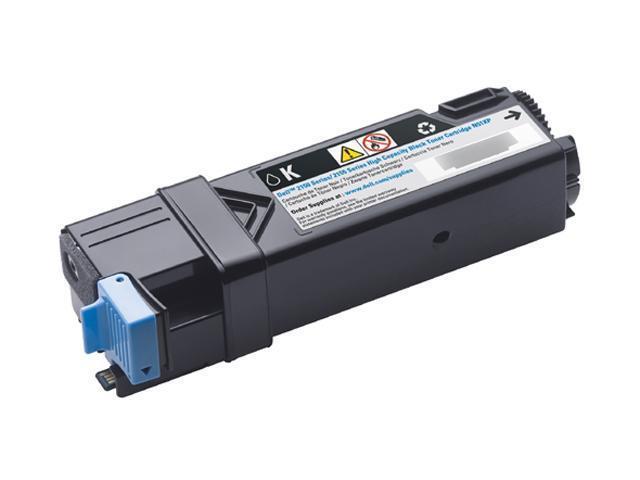 Dell 331-0719 3000 Pages Toner Cartridge for Dell 2150cn / 2150cdn / 2155cn / 2155cdn Color Laser Printers Black