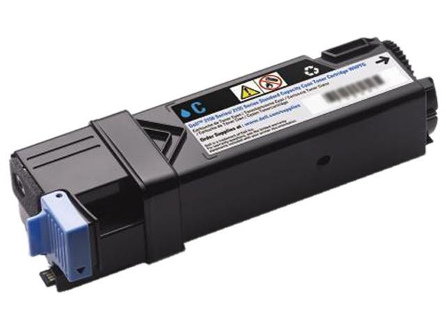 Dell 3JVHD 331-0713 Toner Cartridge for Dell 2150cn / 2150cdn / 2155cn / 2155cdn Color Laser Printers Cyan