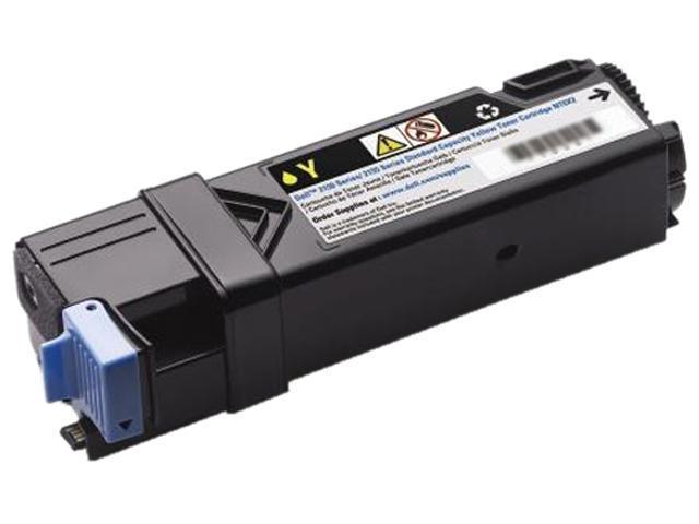 Dell 8GK7X 331-0715 Toner Cartridge for Dell 2150cn / 2150cdn / 2155cn / 2155cdn Color Laser Printers Yellow