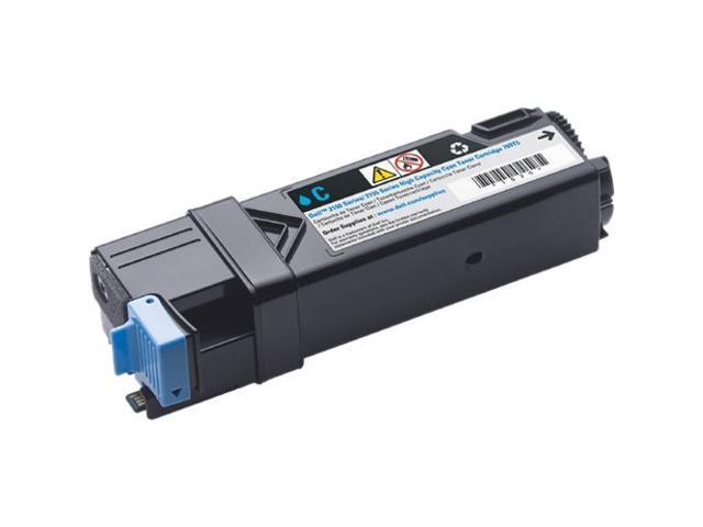 Dell 769T5 High Yield Toner Cartridge for Dell 2150, 2155 printers; Cyan