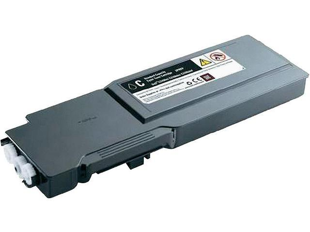 Dell 2PRFP Toner Cartridge for Dell C3760N/ C3760DN/ C3765DNF Color Laser Printer Cyan
