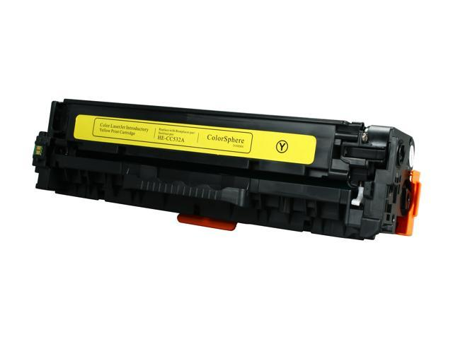 Rosewill RTCA-CC532A Yellow Toner Replaces HP 304A CC532A