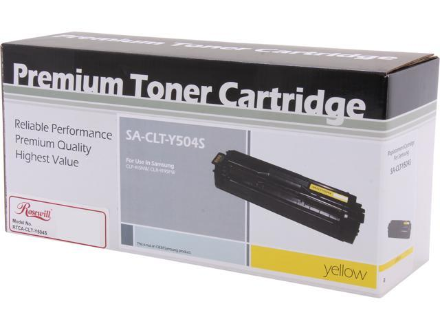 Rosewill RTCA-CLT-Y504S Yellow Replacement for Samsung CLT-Y504S(Y504) Toner Cartridge