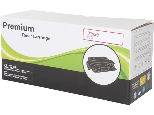 Rosewill RTCG-104 Black Toner Replaces Canon 104 0263B001