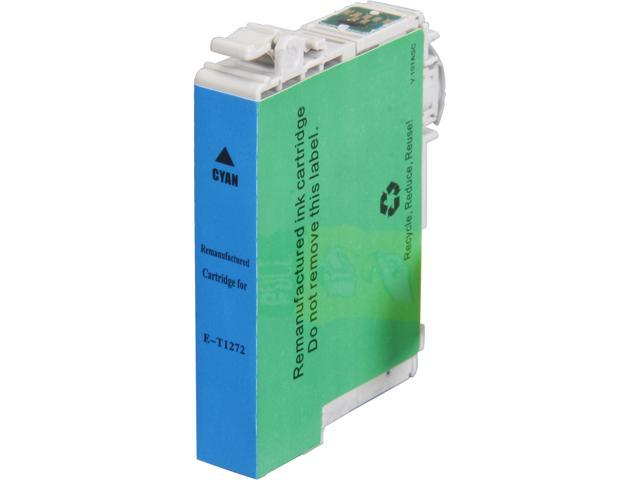 Rosewill RTCG-T127220 Pigment Based Ink Cartridge Replaces Epson 127 T127220 125 T125220 Cyan