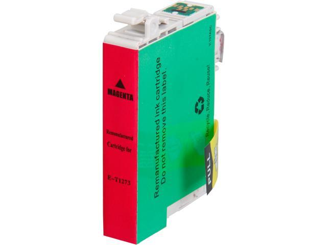 Rosewill RTCG-T127320 Pigment Based Ink Cartridge Replaces Epson 127 T127320 125 T125320 Magenta