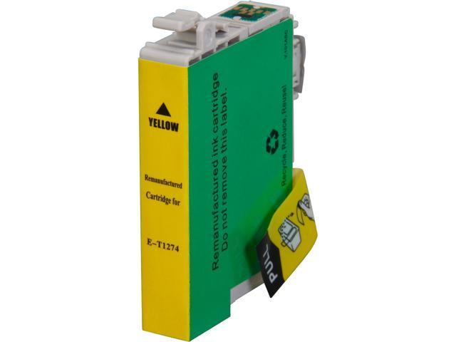 Rosewill RTCG-T127420 Pigment Based Ink Cartridge Replaces Epson 127 T127420 125 T125420 Yellow