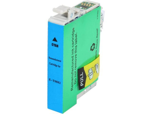 Rosewill RTCG-T088220 Pigment Based Ink Cartridge Replaces Epson 88 T088220 Cyan