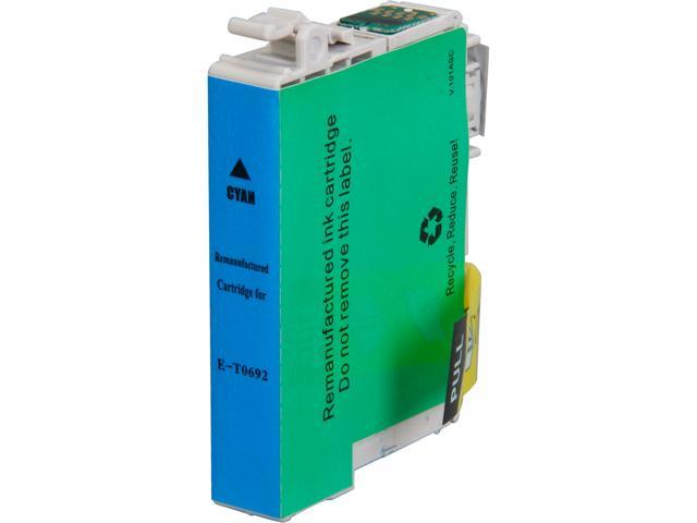Rosewill RTCG-T069220 Pigment Based Ink Cartridge Replaces Epson 69 T069220 Cyan