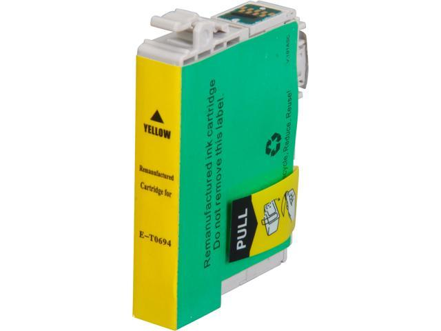 Rosewill RTCG-T069420 Pigment Based Ink Cartridge Replaces Epson 69 T069420 Yellow