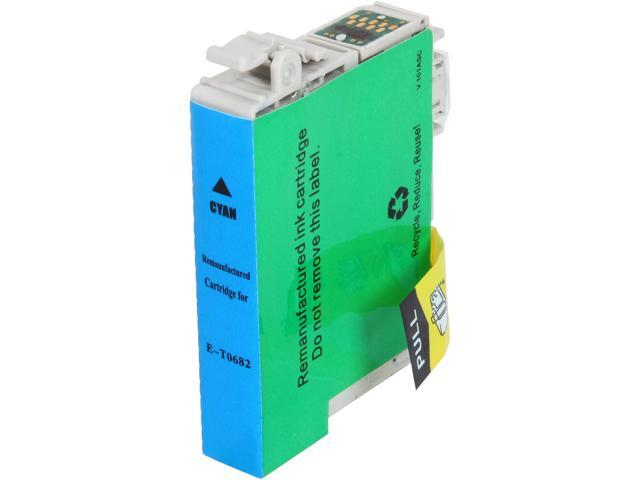 Rosewill RTCG-T068220 Pigment Based Ink Cartridge Replaces Epson 68 T068220 Cyan