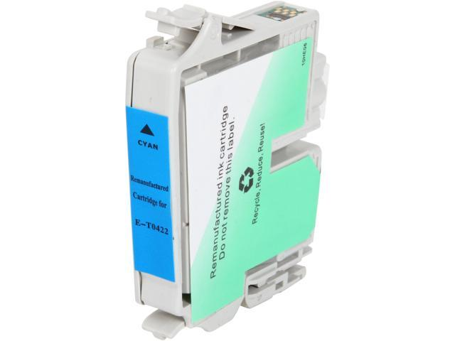Rosewill RTCG-T044220 Pigment Based Ink Cartridge Replaces Epson T044 T044220 Cyan