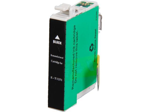 Rosewill RTCG-T125120 Pigment Based Ink Cartridge Replaces Epson 125 T125120 Black