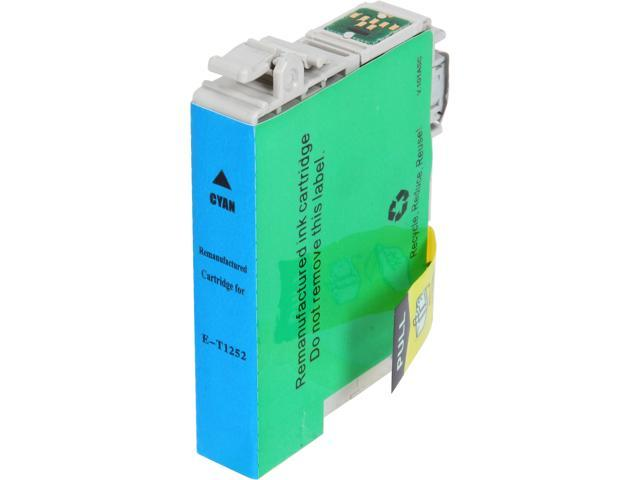 Rosewill RTCG-T125220 Pigment Based Ink Cartridge Replaces Epson 125 T125220 Cyan