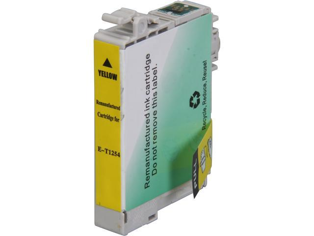 Rosewill RTCG-T125420 Pigment Based Ink Cartridge Replaces Epson 125 T125420 Yellow