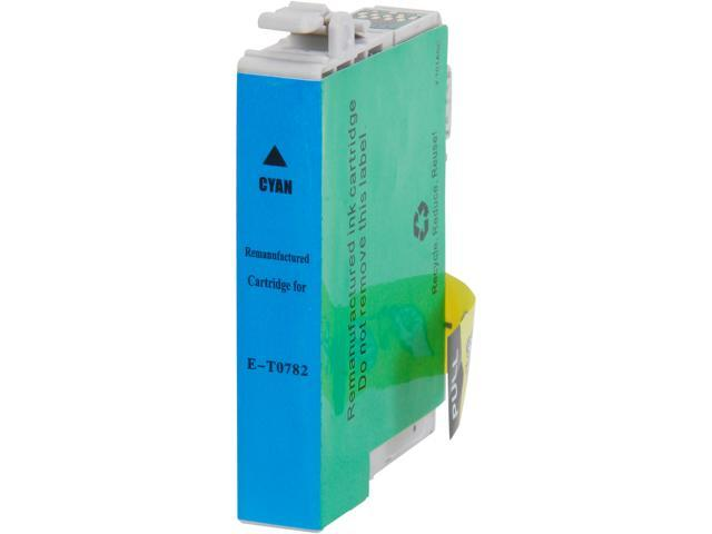 Rosewill RTCG-T078220 Pigment Based Ink Cartridge Replaces Epson 78 T078220 Cyan