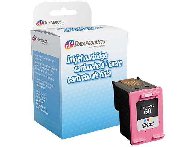 Dataproducts DPC643WN Remanufactured Ink Cartridge Replacement for HP #60 (CC643WN) (Tri-Color)