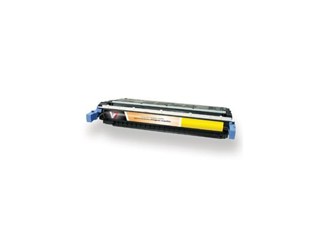 V7 V75500Y Toner Cartridge Yellow