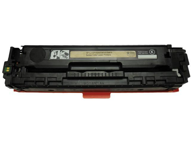 V7 THK1525A-2N No 128A Black Cartridge for HP CP1525,CM1415 LaserJet Printers Black