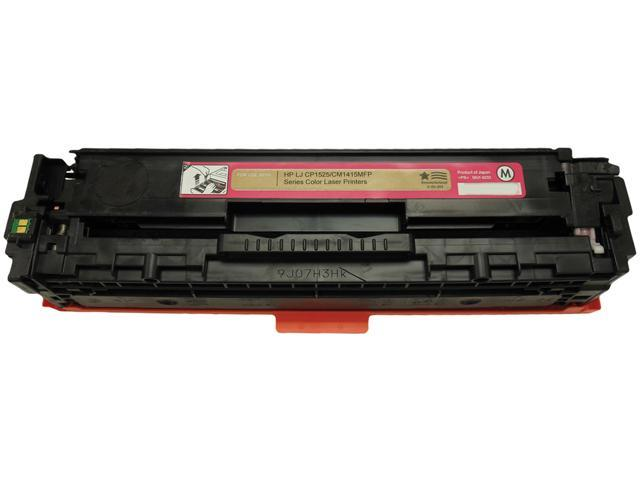 V7 THM1525A-2N No 128A Magenta Cartridge for HP CP1525,CM1415 LaserJet Printers Magenta