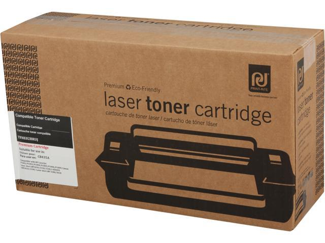 Print-Rite TFHE02BRUJ Black Toner Replaces HP 35A CB435A