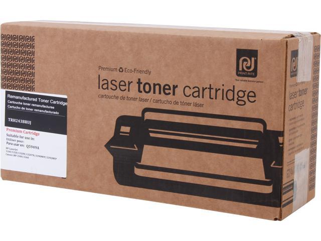 Print-Rite TRH243BRUJ Black Toner Replaces HP 49A Q5949A