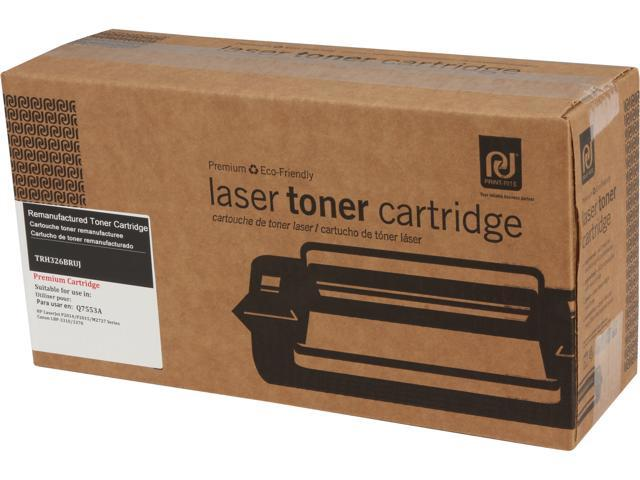Print-Rite TRH326BRUJ Black Toner Replaces HP 53A Q7553A