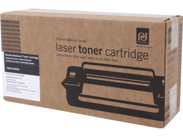 Print-Rite TRH504BRUJ Black Toner Replaces HP 05A CE505A