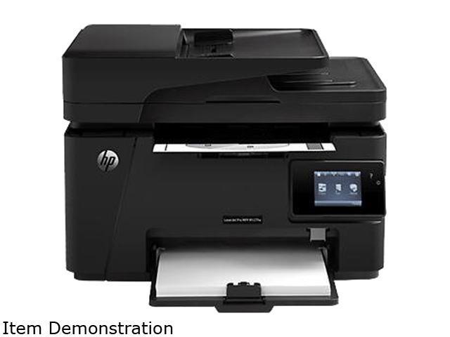 HP LaserJet MFP M127fw Up to 21 ppm Black Print Quality Wireless 802.11b/g/n Laser Printer