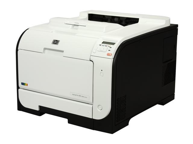 HP LaserJet Pro 400 M451dw Workgroup Up to 21 ppm 600 x 600 dpi Color Print Quality Color Wireless 802.11b/g/n Laser Printer