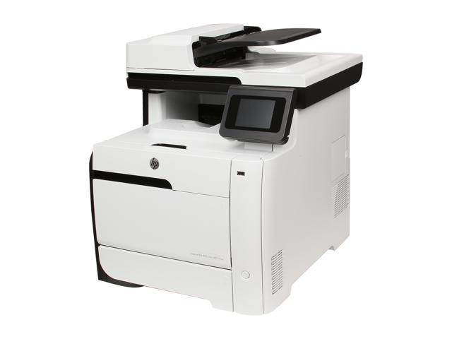 HP LaserJet Pro 400 M475dn MFP Up to 21 ppm 600 x 600 dpi Color Print Quality Color Laser Printer
