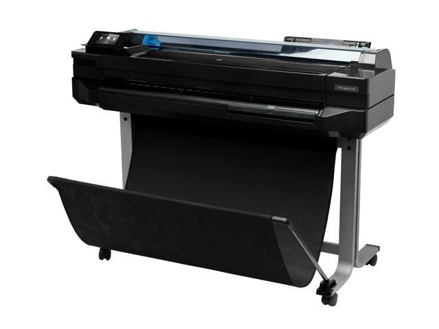 HP Designjet T520 Up to 2400 x 1200 optimized dpi from 1200 x 1200 input dpi and Optimization For Photo Paper selected Color Print Quality ...