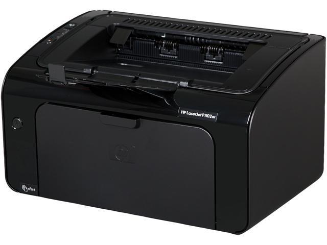 HP LaserJet Pro P1102w Workgroup Up to 19 ppm Monochrome Wireless 802.11b/g/n Laser Printer