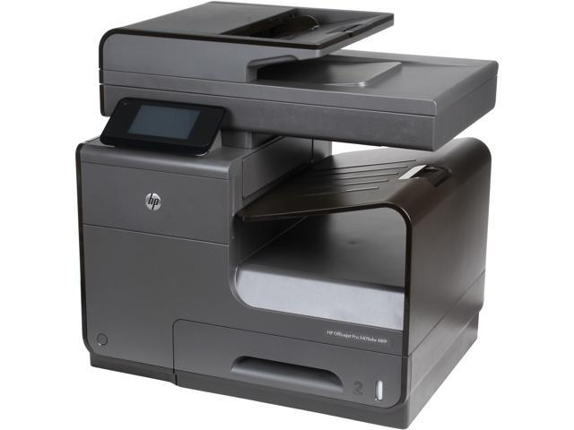 HP Officejet Pro X476dw Up to 55 ppm Black Print Speed 2400 x 1200 dpi Color Print Quality Wireless InkJet MFC / All-In-One Color Printer ...