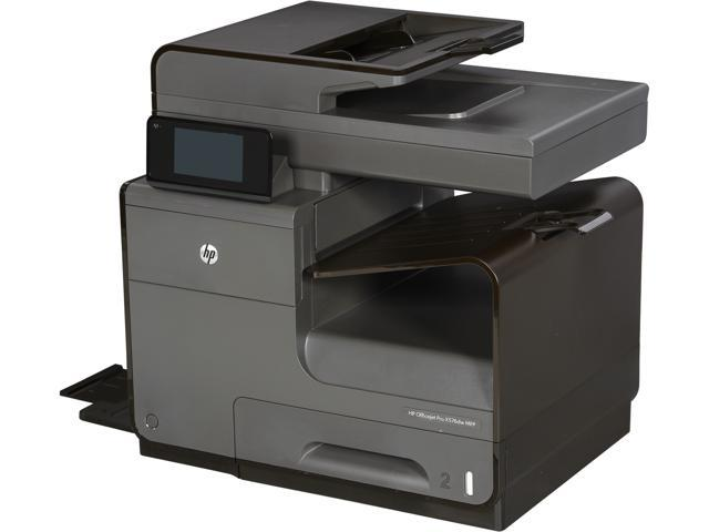 HP Officejet Pro X576DW Up to 70 ppm Black Print Speed 2400 x 1200 dpi Color Print Quality Wireless InkJet MFC / All-In-One Color Printer ...