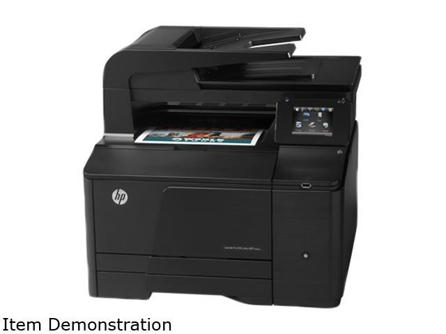 HP LaserJet Pro 200 color MFP M276nw MFC / All-In-One Up to 14 ppm 600 x 600 dpi Color Print Quality Color Wireless 802.11b/g/n Laser ...