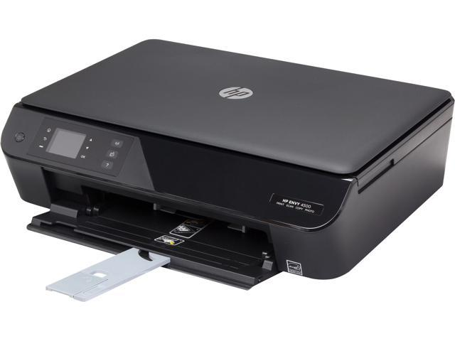 HP Envy 4500 ISO speeds: Up to 6 ppm Black Print Speed 4800 x 1200 dpi Color Print Quality WiFi 802.11n HP Thermal Inkjet MFC ...