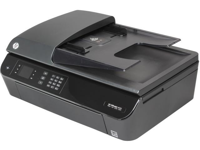 HP Officejet 4630 Up to 8.8 ppm Black Print Speed 4800 x 600 dpi Color Print Quality HP Thermal Inkjet MFP Color Printer w/ 2