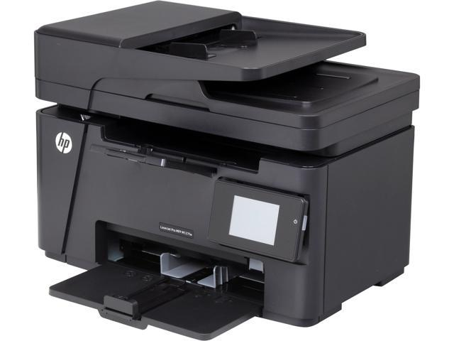 HP LaserJet M127fw MFP Up to 21 ppm Monochrome Wireless 802.11b/g/n Laser Printer multitasking support