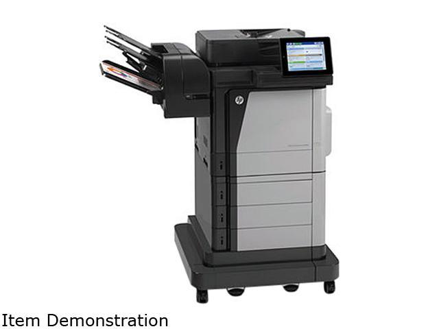 HP M680z MFP Up to 65 ppm (b&w), Up to 89 ppm (b&w) (b&w) 1200 x 1200 dpi Color Print Quality Color via HP Jetdirect ...