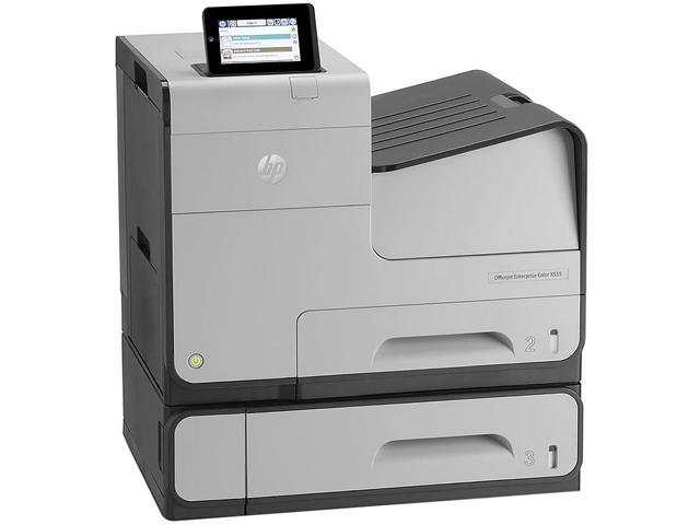 HP X555xh Up to 44 ppm Black Print Speed Up to 2400 x 1200 optimized dpi from 600 x 600 input dpi (on HP Advanced ...