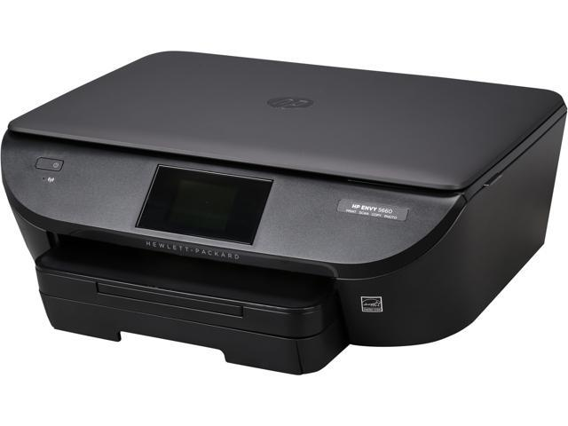 HP Envy 5660 Up to 14 ppm Black Print Speed 4800 x 1200 dpi Color Print Quality 1 x USB 2.0, 1 x WiFi 802.11 ...