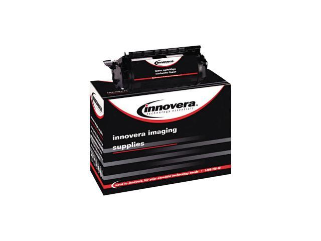Innovera 83765 Black Print cartridge for lexmark t632, t634, replaces lexmark 12a7362, remanufactured