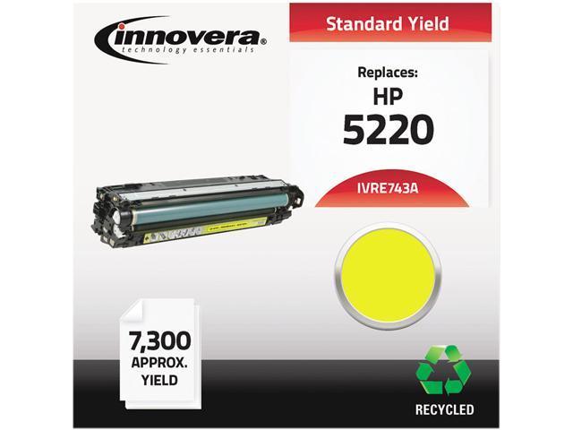 Innovera IVRE743A Compatible Remanufactured CE743A (5525) Toner, Magenta