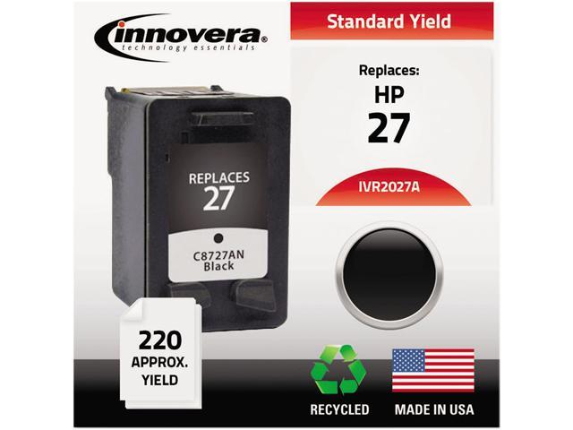 Innovera 2027A Compatible Remanufactured C8727AN (27) Ink Cartridge Black