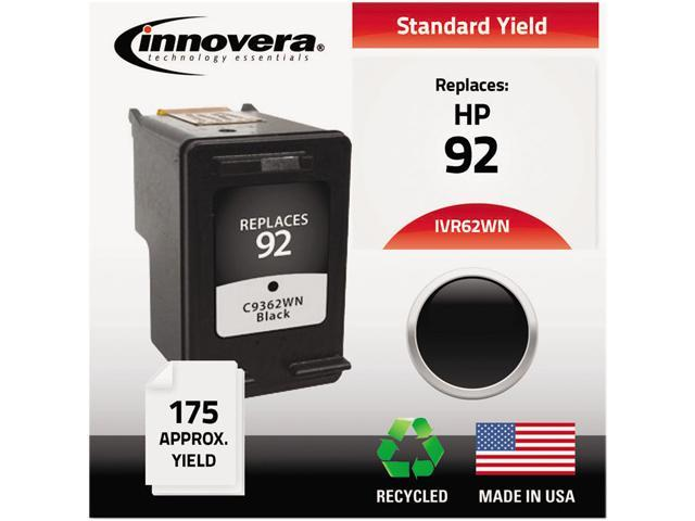 Innovera 62WN Compatible Remanufactured C9362WN (92) Ink Black