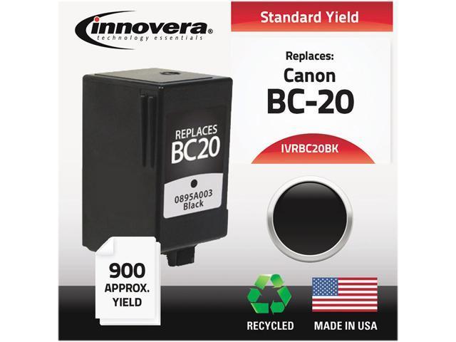 Innovera BC20BK Compatible Remanufactured 0895A003 (BC20) Ink Black