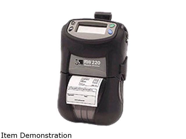 Zebra RW 220 Direct Thermal Printer - Monochrome - Mobile - Receipt Print