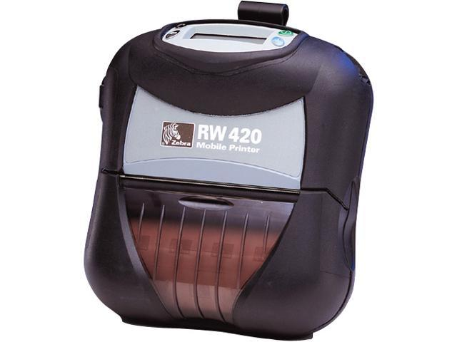 Zebra RW 420 Direct Thermal Printer - Monochrome - Mobile - Receipt Print