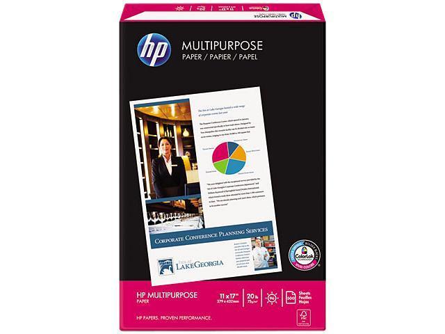 Hewlett-Packard 17200-1 Multipurpose Paper, 96 Brightness, 20lb, 11 x 17, White, 500 Sheets/Ream